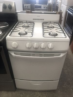 "Vertex Appliances. Sale & services. Used,24"", gas stove.Hotpoint, open burners, electronic ignition , great condition, work great for Sale in San Jose, CA"