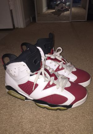 Jordan Carmine 6 size 11 for Sale in Fairfax, VA