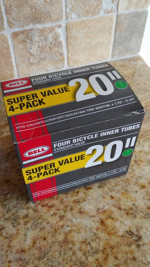 Two New 20 Inch Bicycle Tubes. for Sale in Sugarloaf, PA
