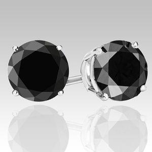 14kt Black Diamond Earrings for Sale in Los Angeles, CA