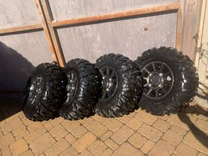 Polaris wheels and tires for sale for Sale in Oceanside, CA