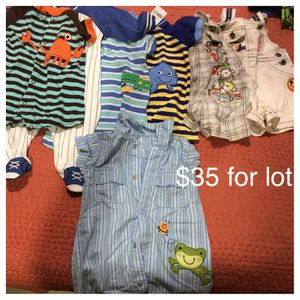 Baby boy clothes 3 months for Sale in Arlington, VA