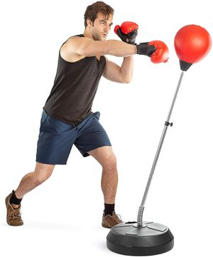 Punching Ball Stand with Gloves for Sale in Los Angeles, CA