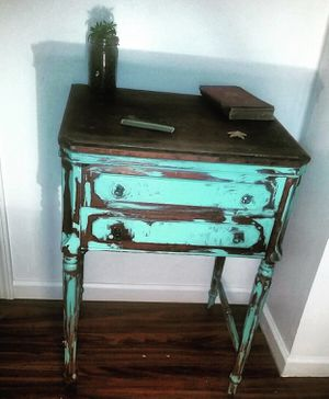 Antique Sewing Machine POP Up Table for Sale in Pittsburgh, PA