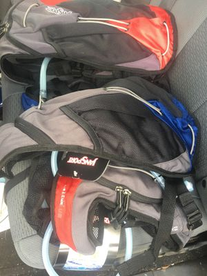 4 Jansport Helium Hydration Backpacks for Sale in Conroe, TX