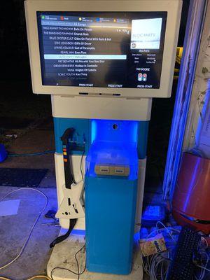 Custom Kiosk With Guitar Hero for Sale in Orange, TX