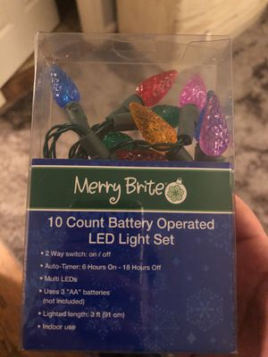 Led light sets. We have a bunch in a variety of colors that could be great for the remaining holidays for use in or out side of the classroom! for Sale in Fairfax Station, VA