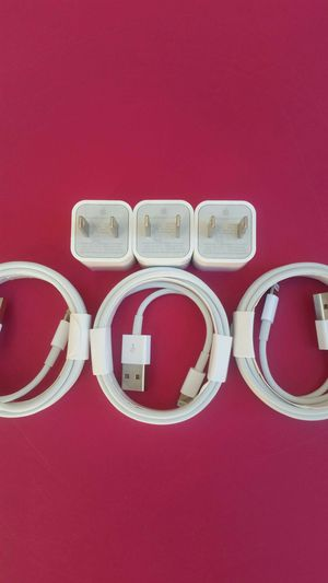 3 (2m) Brand New Original Apple IPhone Chargers for Sale in Lincoln Acres, CA