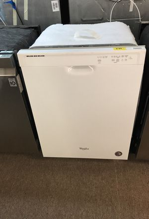 Grand opening savings white whirlpool dishwasher for Sale in Houston, TX