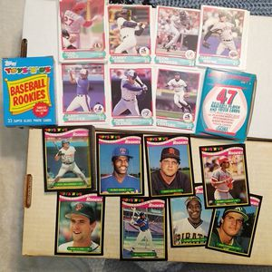 Baseball card mini sets Prescribe! Rookies! Canseco, Bonds, RARE! for Sale in Clarksville, IN