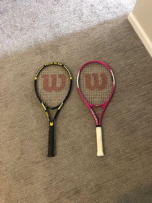 Wilson tennis rackets for Sale in Tempe, AZ