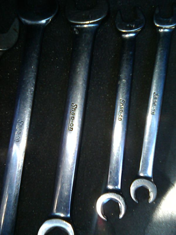 Snapon combo wrench standard set