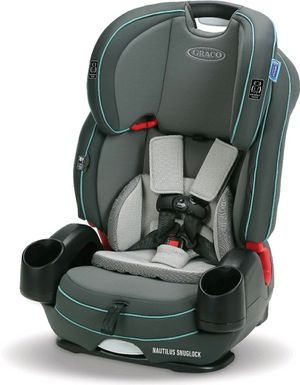 Graco Nautilus SnugLock 3-in-1 Harness Booster Car Seat, Kanai Teal for Sale in Denver, CO
