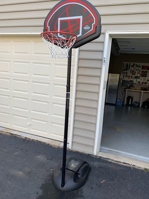 Adjustable basketball hoop for Sale in Haymarket, VA