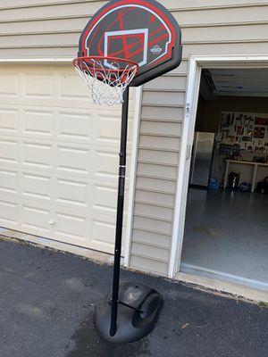 Adjustable basketball hoop for Sale in Haymarket, VA