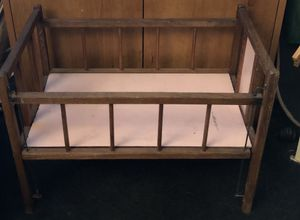 Antique Doll Bed for Sale in Fayetteville, GA
