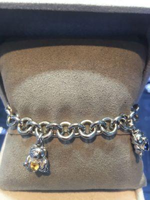 Silver charm bracelet for Sale in New York, NY