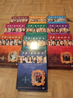 TV series friends complete 10 season for Sale in Bristol, PA