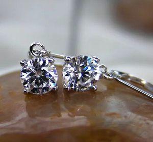 2 Carat lab-created Diamonds Earrings for Sale in North Miami Beach, FL