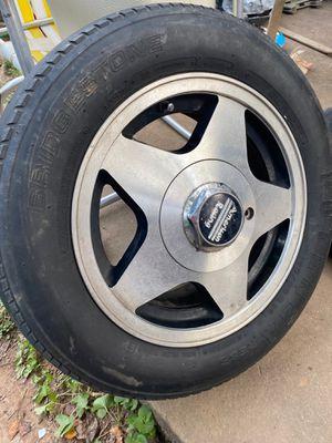 American racing wheel for Sale in Charlottesville, VA