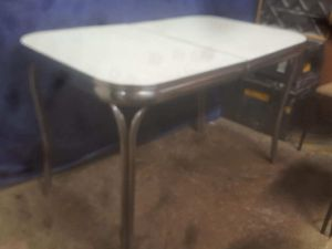 Vintage metal and formica table and chairs mint condition for Sale in Cleveland, OH