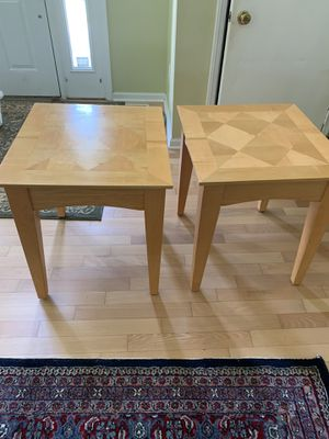 Two nice coffee table or end tables for sale for Sale in Dublin, OH
