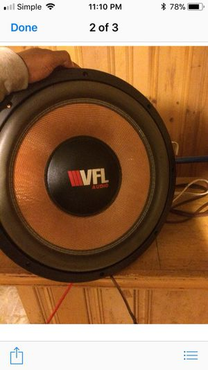 Subwoofer for Sale in Cleveland, OH