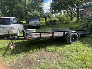 12x5 utility trailer with ramps for Sale in Houston, TX