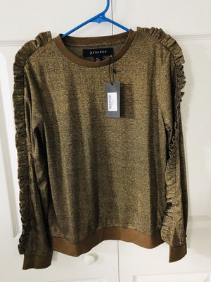 New Women's Long Sleeve Sweatshirt Lightweight Blouse size Xl (pick up only) for Sale in Springfield, VA
