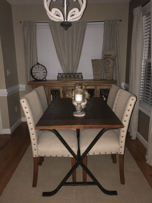 Table sold with 4 stools. Chairs are not included. for Sale in Boiling Springs, SC