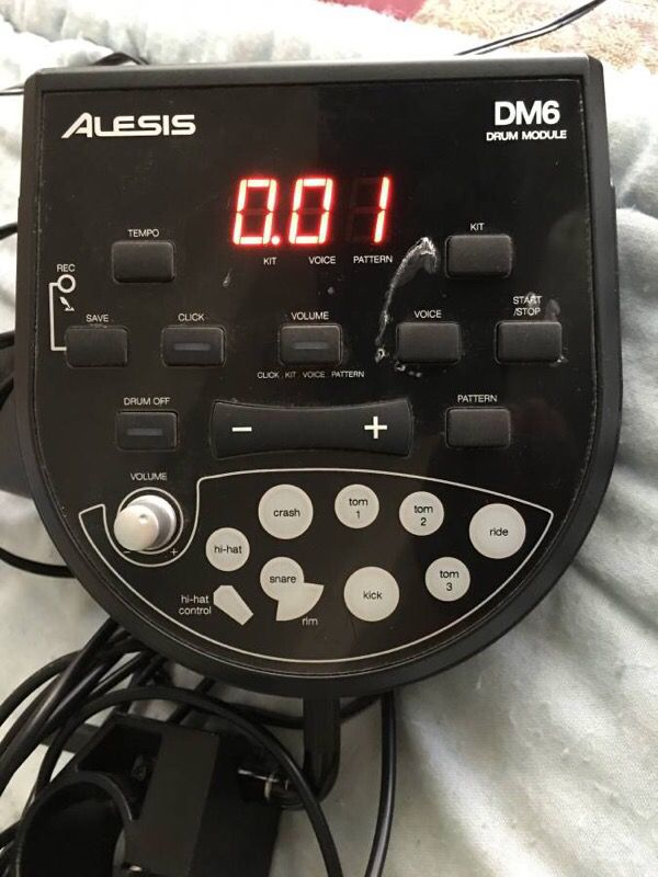 Alesis DM6 USB Electronic Drum Kit for Sale in Milpitas, CA - OfferUp