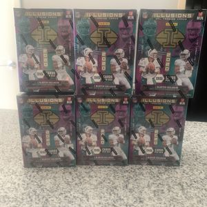 2x NFL Panini Illusions Boxes for Sale in Omaha, NE