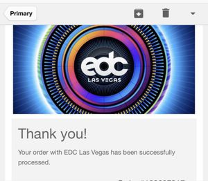 2 EDC TICKETS! for Sale in Alhambra, CA