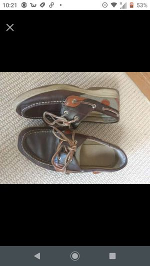 Sperry bluefish lace boys slippon dress shoes size 6M for Sale in Marion, LA