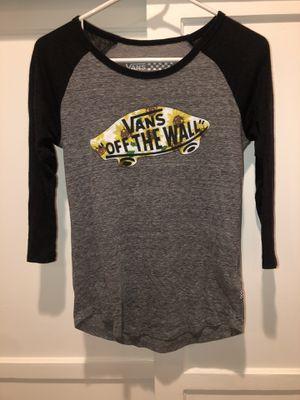Juniors Vans Shirt for Sale in Downey, CA