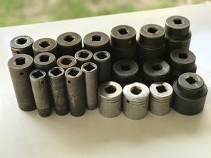 Proto Socket Set- 23pc. (1/2 in. Drive) **SIZE: 7/16 to 1-7/16** for Sale in Houston, TX