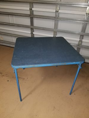 "34"" x 34"" blue craft table for Sale in Melbourne, FL"