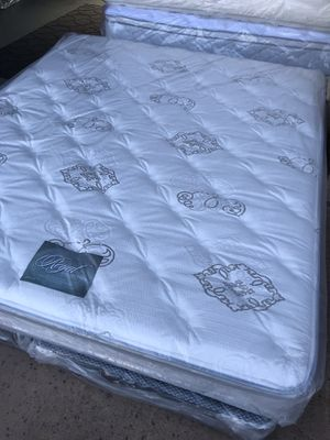 Brand New California King size Mattress Orthopedic Euro Pillow-Top Innerspring for Sale in Carlsbad, CA