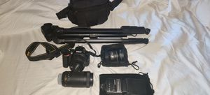 Nikon D5600 Bundle for Sale in Santa Clarita, CA