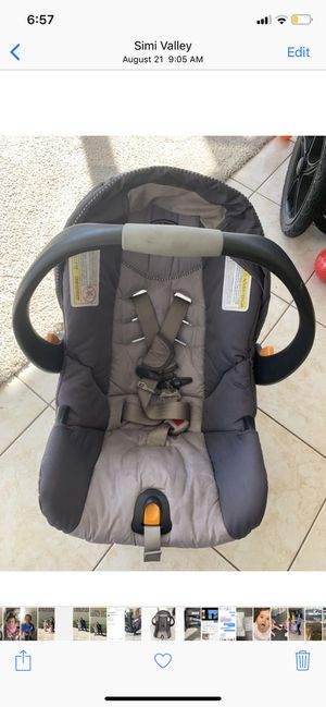 Chicco Carfit keyfit 30 car seat infant bought last year for Sale in Simi Valley, CA