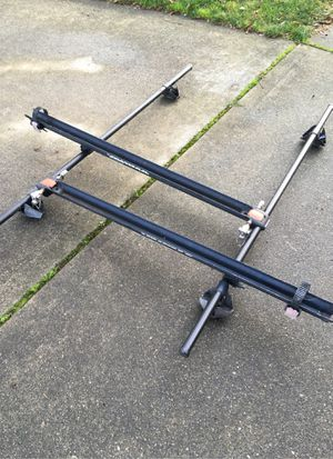 Yakima roof rack with bike attachments for Sale in Tacoma, WA