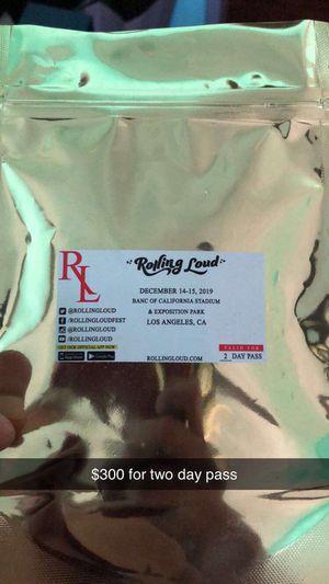 Rolling Loud for Sale in Downey, CA