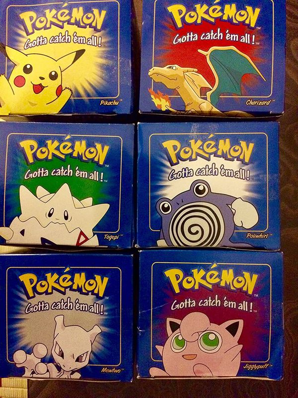 24kt burger king pokemon cards