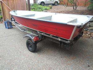 Duroboat and trailer for Sale in Sumner, WA