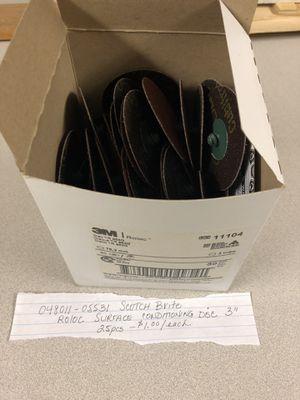 Scotch brite disks for Sale in Brecksville, OH