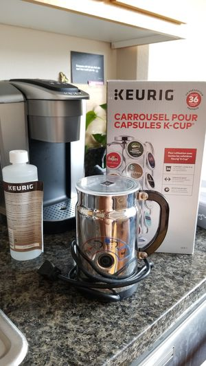 Coffe package! Keurig + Nespresso Frother for Sale in Portland, OR