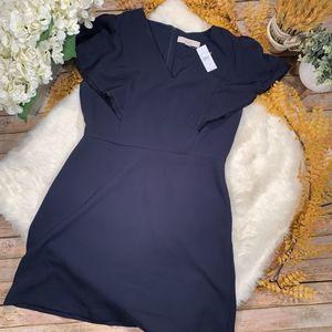 🆕 Ann Taylor LOFT Fringe Flutter Sheath Dress, Forever Navy - Size 10 (465444) for Sale in North Andover, MA