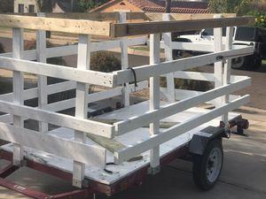4x8 utility trailer 1450 gvwr for Sale in Phoenix, AZ