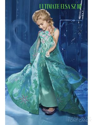 NEW CHASING FIREFLIES The Ultimate Collection Elsa Costume for Girls Sold Out SZ 10 for Sale in McLean, VA