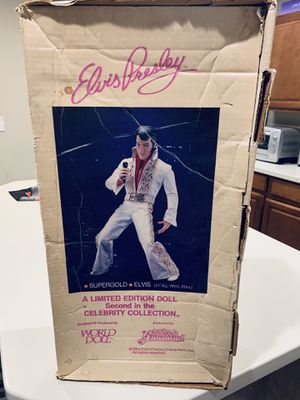 Elvis collectibles Doll, watch & coin for Sale in Monroe, NC